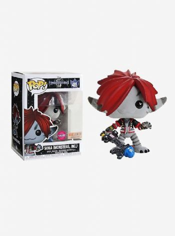 Funko POP! Vinyl Disney's Kingdom of Hearts Sora (Monster Inc) Flocked Figure